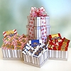 Ghirardelli Holiday Greetings Sweets Holiday Tower