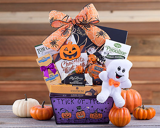 Ghostly Collection  Halloween Gift Basket