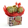 Gingerbread Man Gourmet Cookie Gift Box