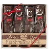 Gingerbread Man Box of 4 Hand-Dipped Marshmallow Pops