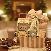 Golden Sparkles: Holiday Gourmet Gift Basket