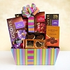 Godiva Delights: Rainbow Of Treats Gift Basket