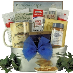 Going Fishing!  Fishing Gift Basket