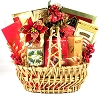Golden Holiday: Gourmet Gift Basket