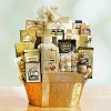 Golden Superstar Celebrations Gift Basket