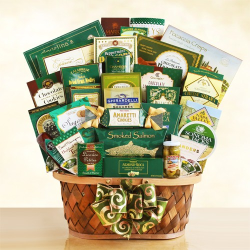 Grand Gourmet Wishes Food Gift Basket