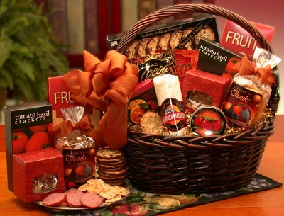 Grand World of Thanks Food Gift Basket