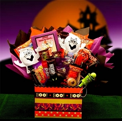 Boo Scary Halloween Gift Basket