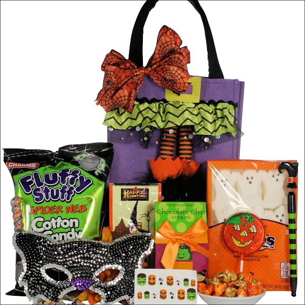 Halloween Fun Gift Basket For Teen Girl
