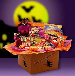 Halloween Surprises Gift Basket