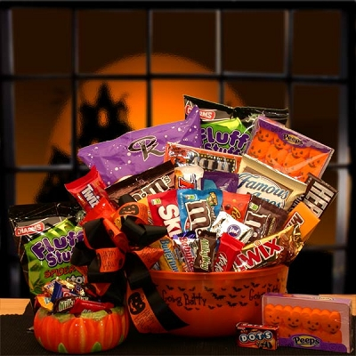 Halloween Sweet Treats Gift Basket