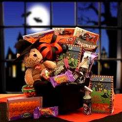 Halloween Witches Cauldron Gift Basket