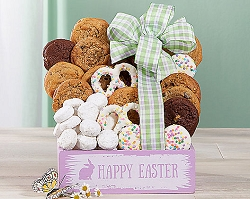 Happy Easter Cookie Gift Basket