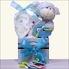Happy Easter: Little Lamb Baby Boy Easter Gift Basket