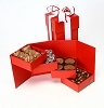 Happy Holidays Deluxe Chocolate Gift Tower