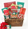 Happy Holiday Sweet Treats Gift Basket