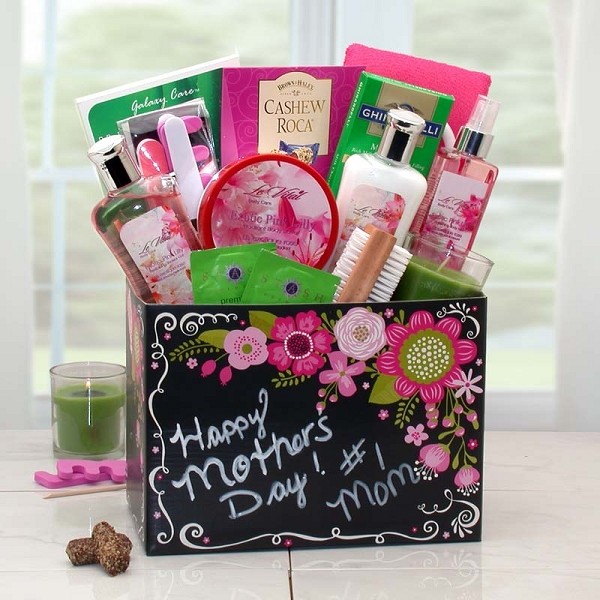 #1 Mom Happy Mother's Day Gift Basket