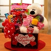 Kids Bear Hugs Valentine's Day Gift Basket