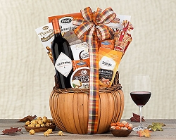 Harvest Greetings Cabernet Fall Collection Wine Basket