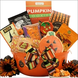 Haunted Gourmet Halloween Gift Basket