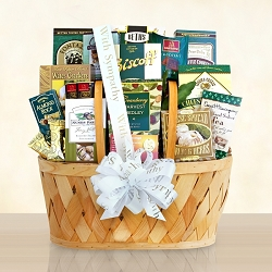Healing Thoughts Sympathy: Condolence Gift Basket