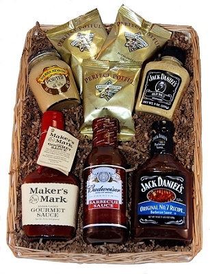 Hit the Sauce Gourmet Basket