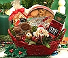 Holiday Cheers Gourmet Gift Basket
