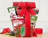 Holiday Cocoa and Tea Gift Basket