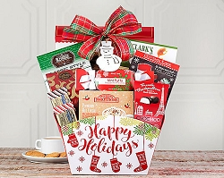 Holiday Jolly Chocolate Gift Basket