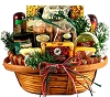 Holiday Gourmet Cheese Extravaganza Gift Basket