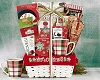 Holiday Joy To The World: Tea & Coffee Gift Basket