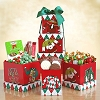 Humorous Sweater Holiday Gift Tower