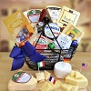 International Flavors: Cheese & Chocolate Gift Basket