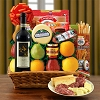 Italian Fiesta: Chianti Wine~ Cheese & Fruit Gift Basket