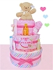 It's A Baby Girl! Diaper Cake