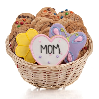 Just For Mom: Mothers Day Cookie Gift Basket