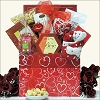 Kisses & Hugs: Valentine's Day Gourmet Gift Basket