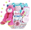 Kitty Fun: Personalized Baby Gift Basket-Girl