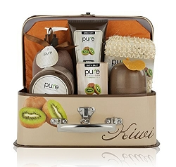 Kiwi Delight Luxury Spa Gift Basket Bath Set