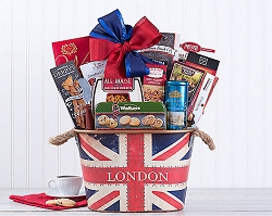 London Charmer Gourmet Gift Basket