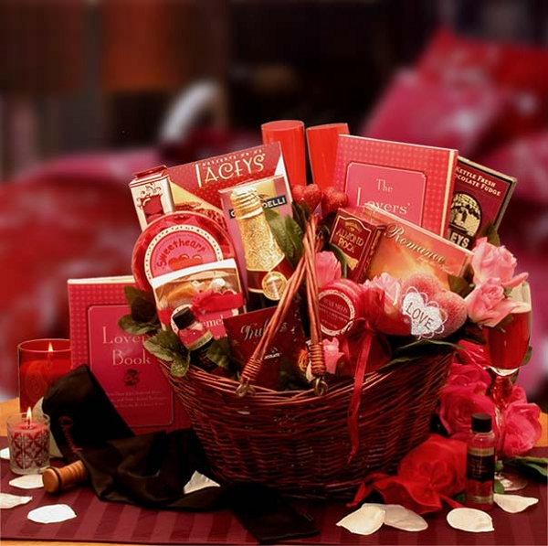 Love and Romance Wedding Gift Basket