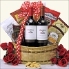 Lover Red Duet: Valentine's Day Wine Gift Basket