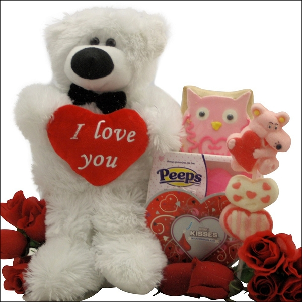 Love you: Polar Bear Valentines Day Gift For Kids