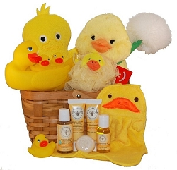 Burt's Bees Baby Bath Time Gift Basket