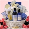 Luxurious Lavender Vanilla Valentine's Day Spa Gift Basket