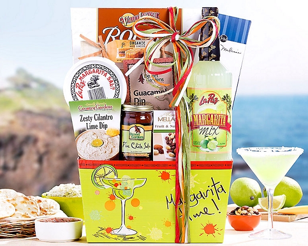 Margarita Time Gift Basket