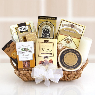 Memories Of Love: Sympathy Gift Basket