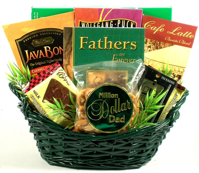 Million Dollar Dad: Christian Gift Basket For Fathers