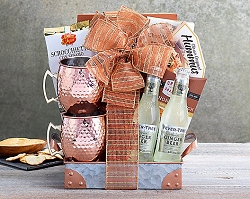 Moscow Mule & Fever Tree Ginger Soda Gift Basket