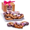 Mother's Day Belgian Chocolate Pretzel Twists- Gourmet Gift Box